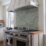 Steel Range Hood and Cabinets
