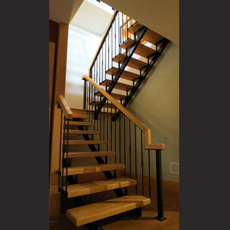 Interior Stairs And Iron Railings Metal Design Vt Metal Design Vt