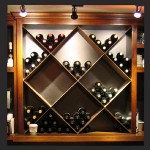 Diamond Wine Rack