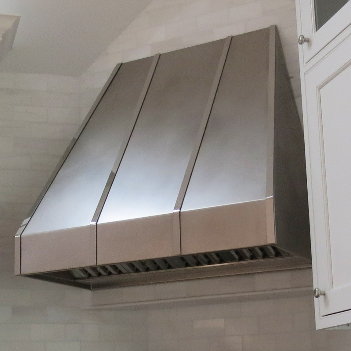 Metal Range Hoods ~ Natick stainless steel range hood « metal design vt