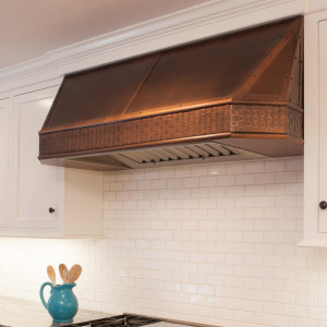 Antique Copper Range Hood