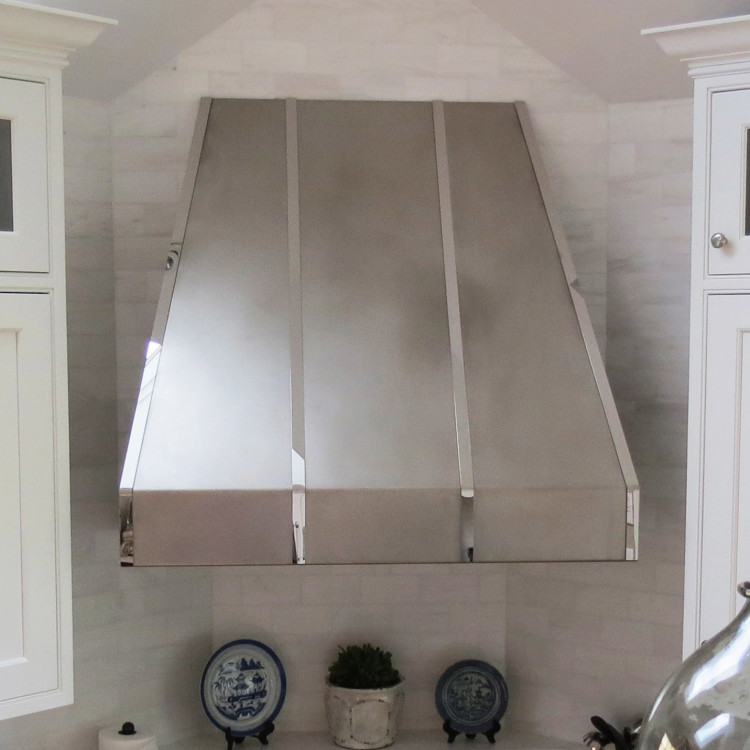 how to clean stainless steel hood