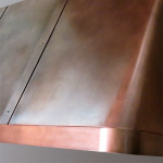 Antique Copper Vent Hood