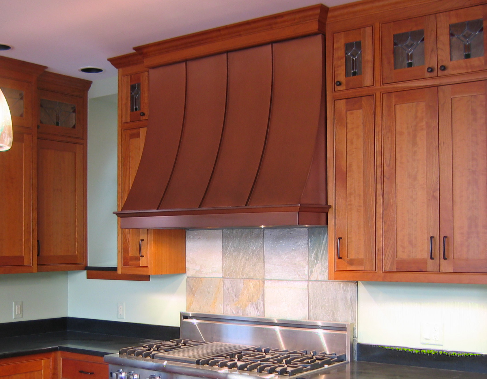 Vergennes Copper Range Hoods Metal