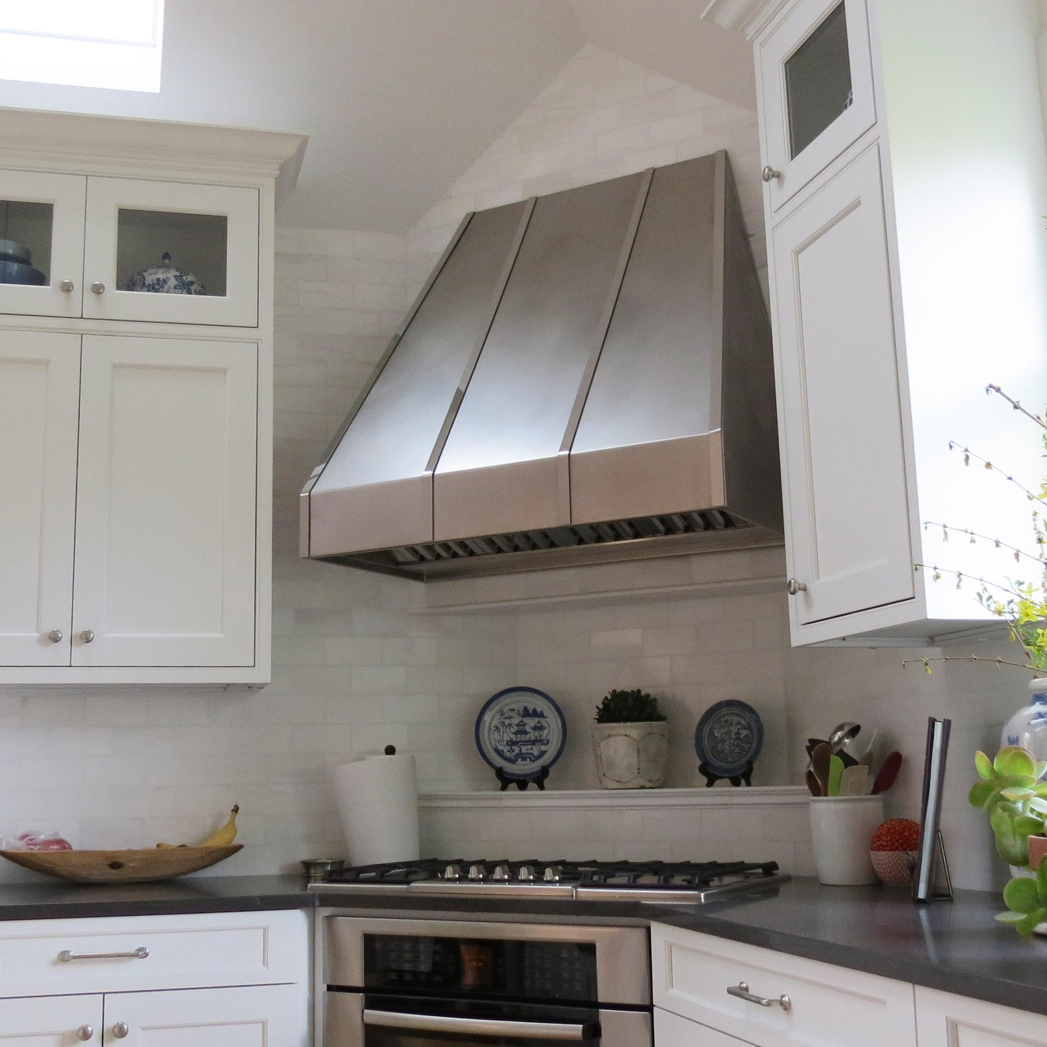 Stainless Steel Kitchen Hood Design